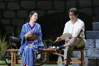 シス・カンパニー『風博士』が開幕、中井貴一・段田安則・吉田羊・渡辺えりのコメント到着