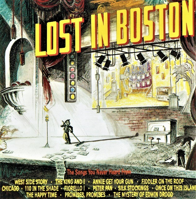 〈僕が家に帰ったら〉を収録した「ロスト・イン・ボストン」(輸入盤)