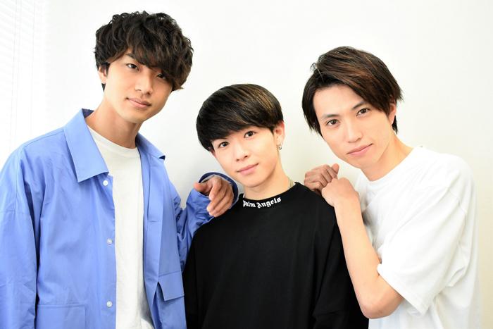 (左から)井澤巧麻、野口準、佐伯亮