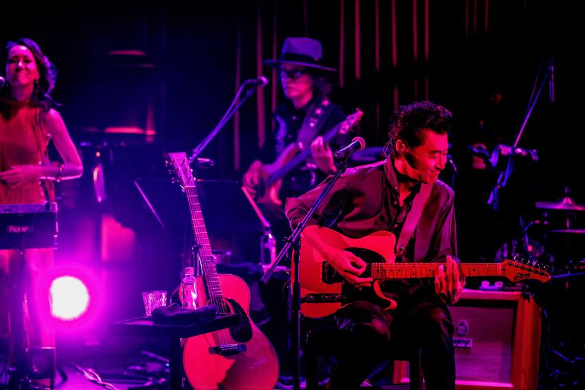 配信ライブ『静かな春の戯れ ~Live in Blue Note Tokyo~』 撮影=岡田貴之