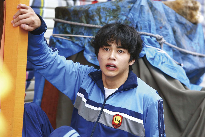 東出昌大 (C)福満しげゆき・講談社/映画「ヒーローマニア-生活-」製作委員会