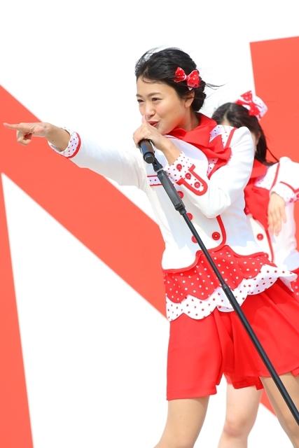 NGT48・北原里英 『祝・メジャーデビュー!NGT48ここからプレーボール!@HARD OFF ECOスタジアム新潟』