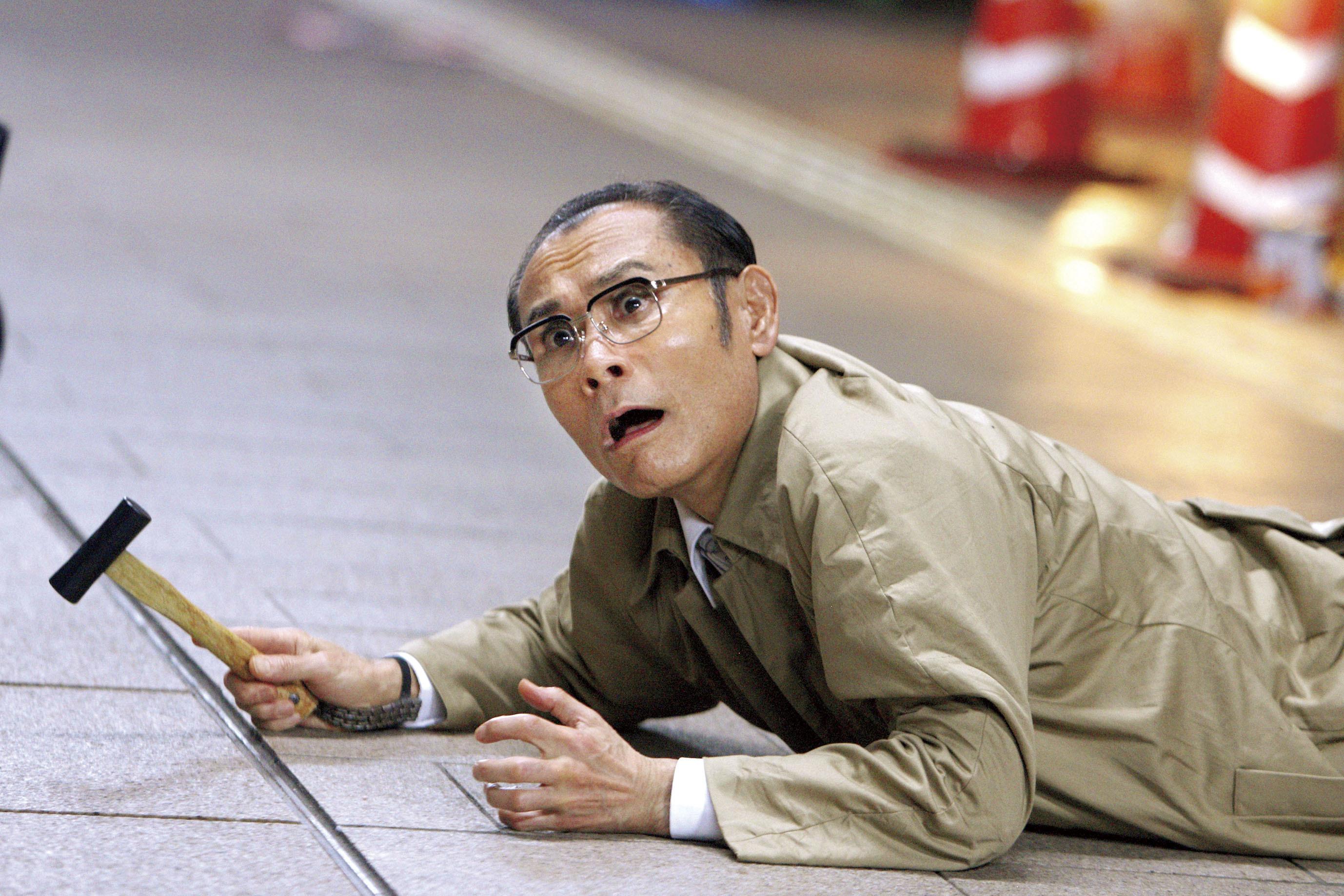 片岡鶴太郎 (C)福満しげゆき・講談社/映画「ヒーローマニア-生活-」製作委員会