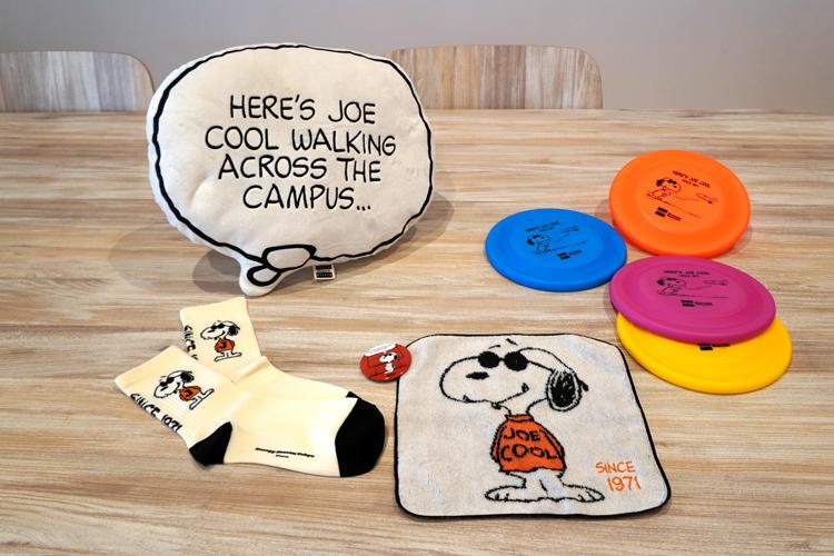 ジョー・クールのグッズ。どれも購入したくなる。 (C) Peanuts Worldwide LLC