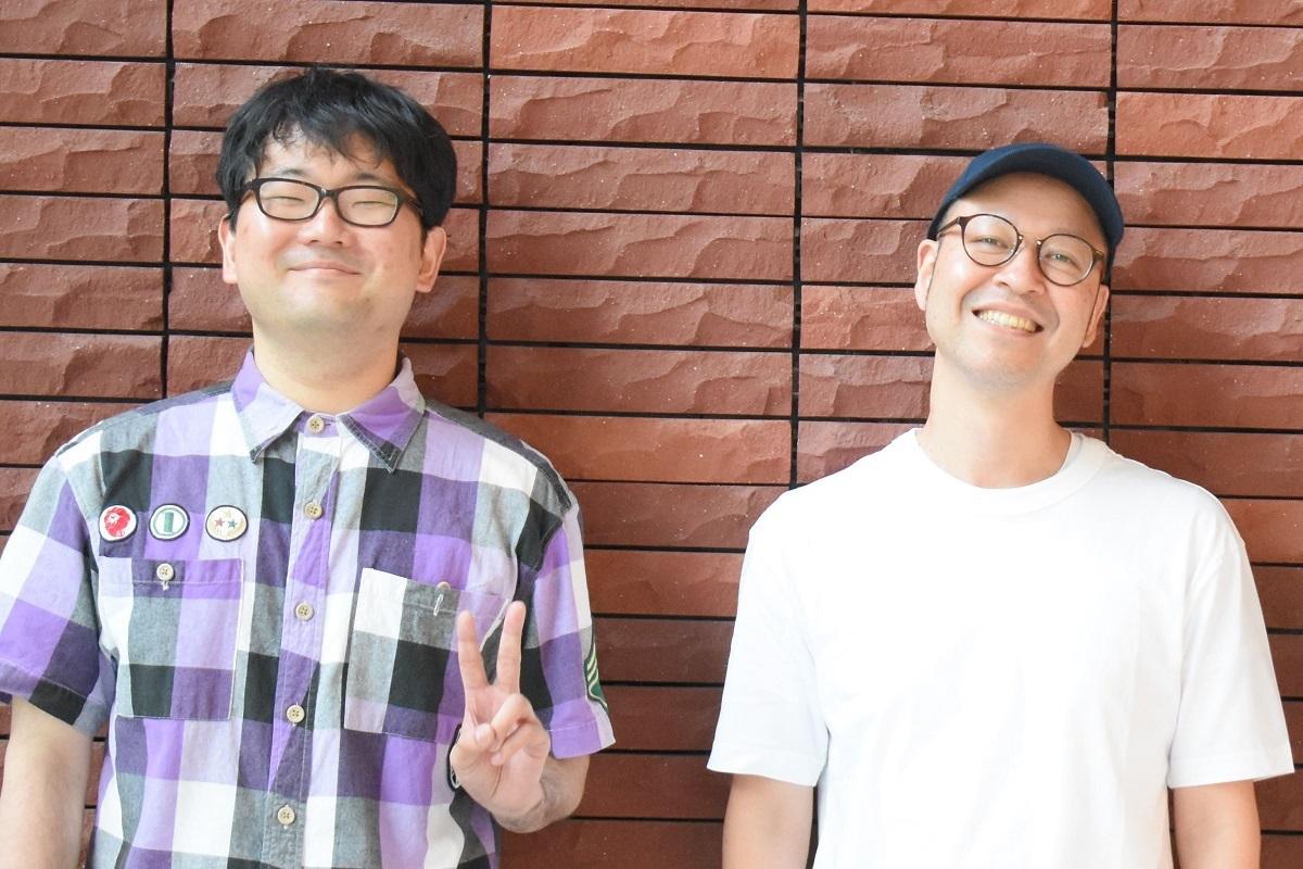 (左から)伊達さん、飯野智司