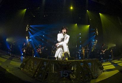TETSUYA(L'Arc~en~Ciel)、ソロ15周年アニバーサリーライブの映像作品を4月にリリース