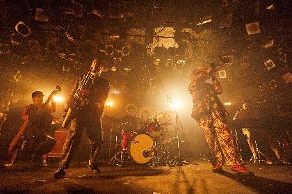TRI4TH、LOSALIOSとの対バンイベントで渋谷クラブクアトロ沸かす「中村達也に憧れたここまで来たんだよ!」