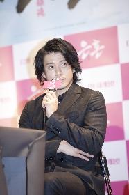 『銀魂』小栗旬、韓国映画への想いを語る「『新感染』のような作品に出たい」 チャン・ジェウク武術監督との絆も明かす