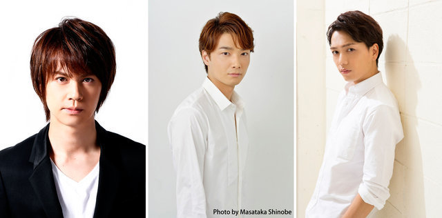 左から;浦井健治、井上芳雄、山崎育三郎