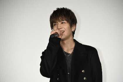 岩田剛典、サプライズ登壇でみずからも驚かされることに 29歳の誕生日に『去年の冬、きみと別れ』一般試写会に登場