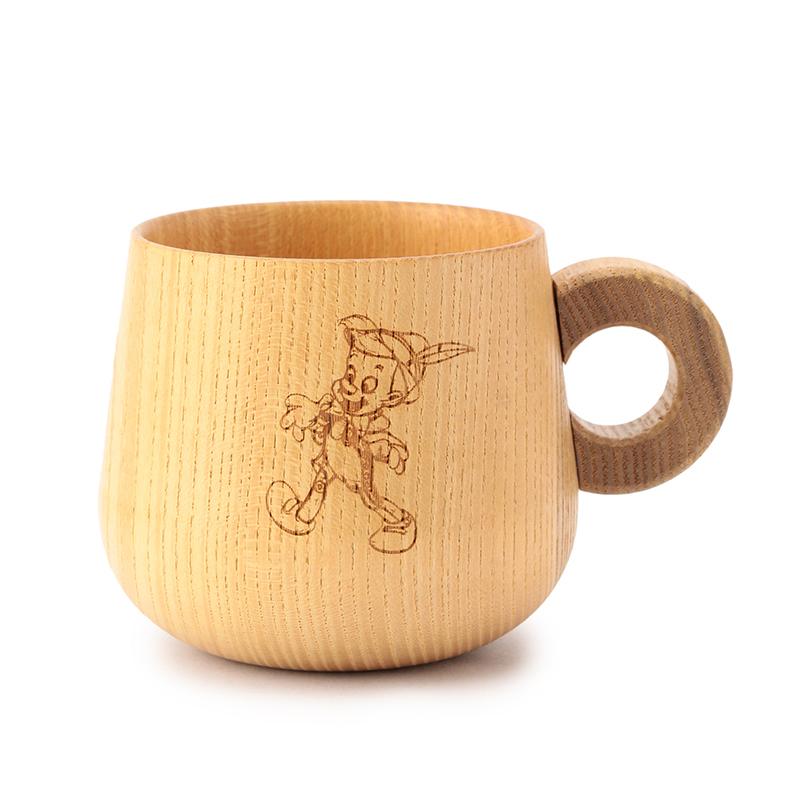 木マグカップ_ピノキオ