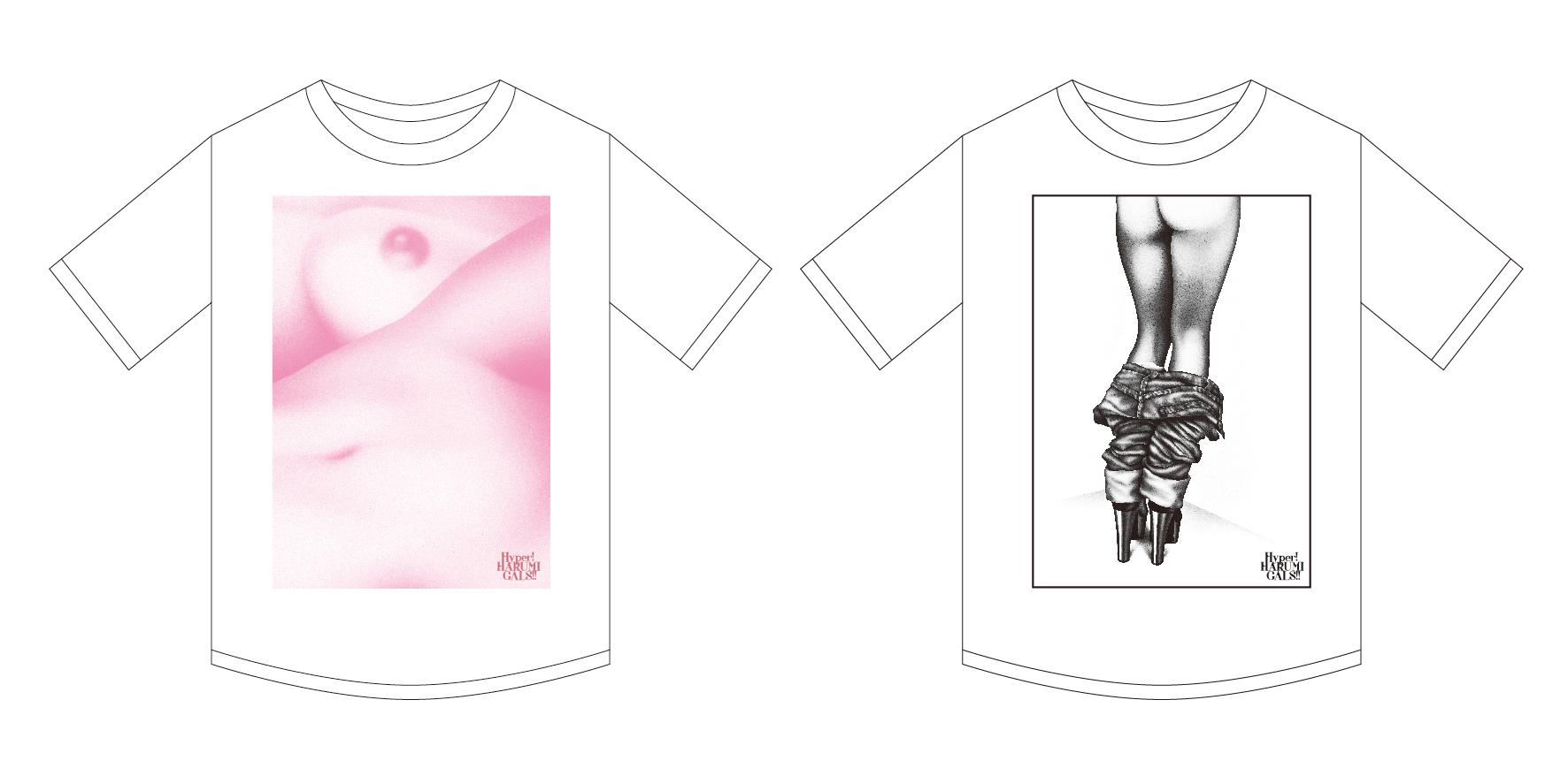 Tシャツ(左:ミツカルストア限定/右:パルコミュージアム限定)