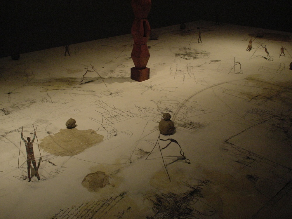 《a colony on the table》2005