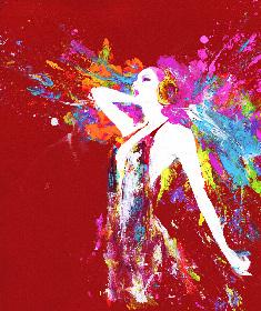 山下良平によるアートと音楽のコラボレーション。『躍動』をテーマに1ヶ月に渡る展覧会「ALIVE!」を開催