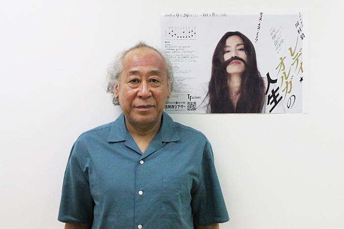 川村毅 (撮影:安藤光夫)
