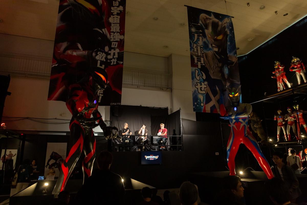 トークショーも好評でした 撮影:大塚正明