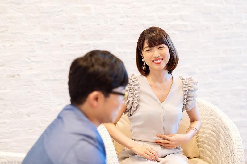 新妻聖子 撮影=上山陽介