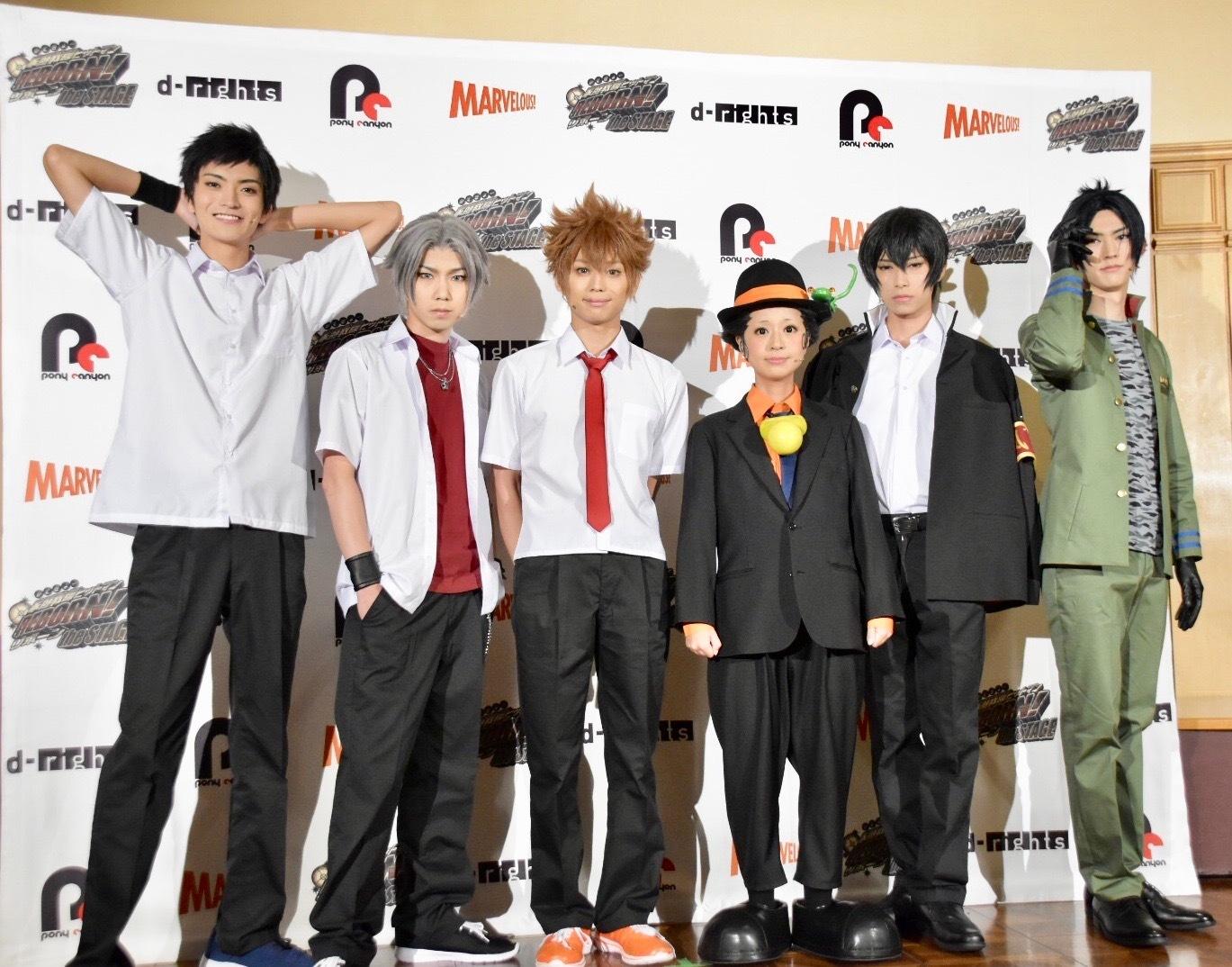左から、山本涼介、桑野晃輔、竹中凌平、ニーコ。岸本勇太、和田雅成