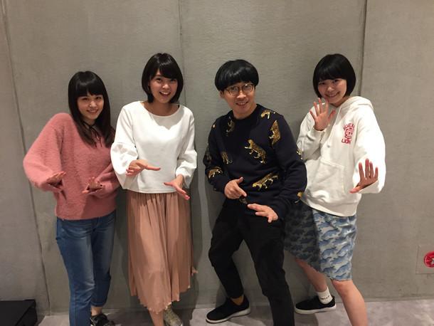 Negiccoと堂島孝平(右から2番目)。