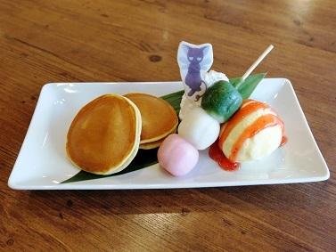 スッピーのこだわり和菓子プレート 1,100円