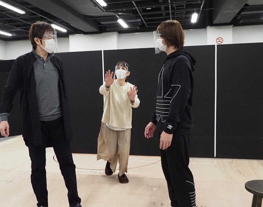 『オトコ・フタリ』稽古場より
