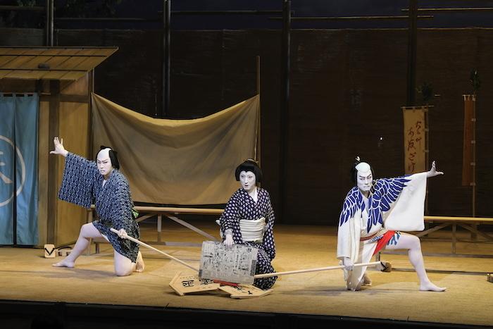 (左より)尾上松也、中村七之助、中村勘九郎  /(C)松竹