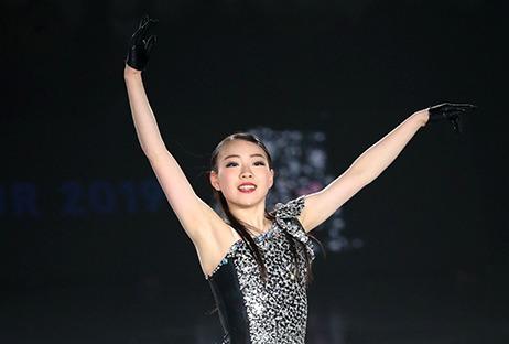 紀平梨花 (c)Japan Sports