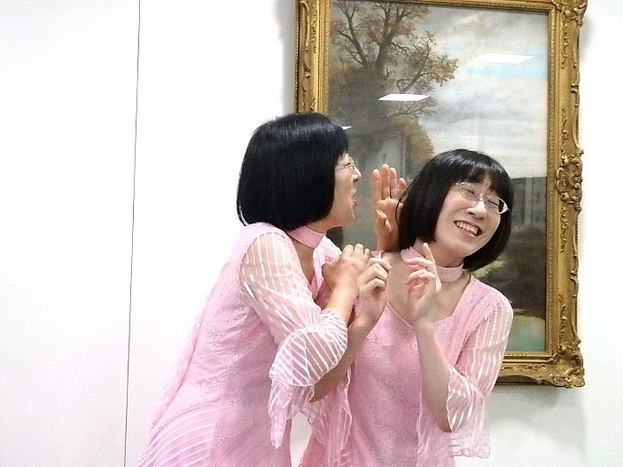 何事かを大声で叫ぶ美穂。「鼓膜がっ!」とこの後突っ込む姉江里子