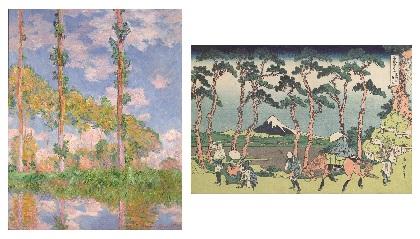 『北斎とジャポニスム HOKUSAIが西洋に与えた影響』が国立西洋美術館で開催 モネ、ドガ、セザンヌらと葛飾北斎の作品を比較
