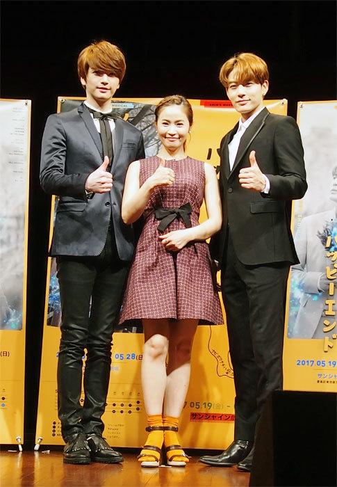 左からソンジェ(超新星)、キム・ボギョン、チェ・ドンウク(SE7EN)