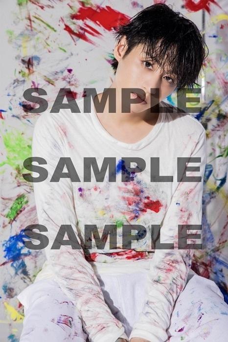前山剛久ビジュアルブック「Artist」アニメイト購入特典 L判生写真