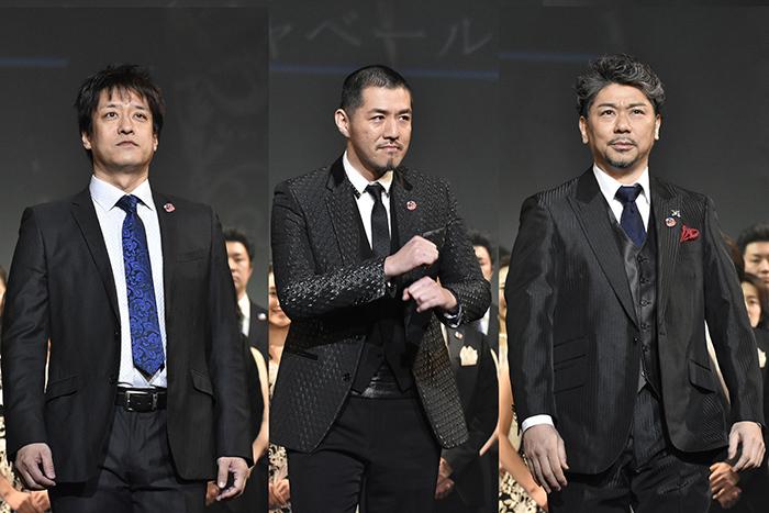 (左から)川口竜也、吉原光夫、岸祐二(撮影:原地達浩)