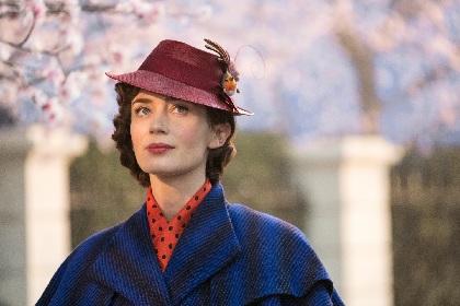 『メリー・ポピンズ リターンズ』主演のエミリー・ブラントが初来日 平原綾香、谷原章介とジャパンプレミアに登壇へ