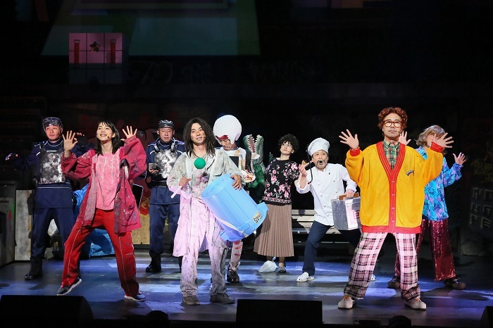 大パルコ人④マジロックオペラ『愛が世界を救います(ただし屁が出ます)』 撮影:宮川舞子