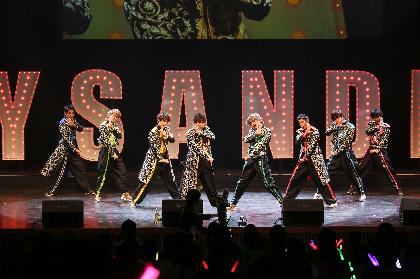 BOYS AND MEN、全国ライブツアーが神戸国際会館で閉幕 つんく♂プロデュース曲「どえりゃあJUMP!」も初披露