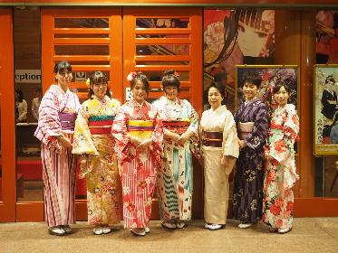明治座『SAKURA -JAPAN IN THE BOX-』を着物で観劇 『明治座観劇着物レンタルプラン』が販売開始に