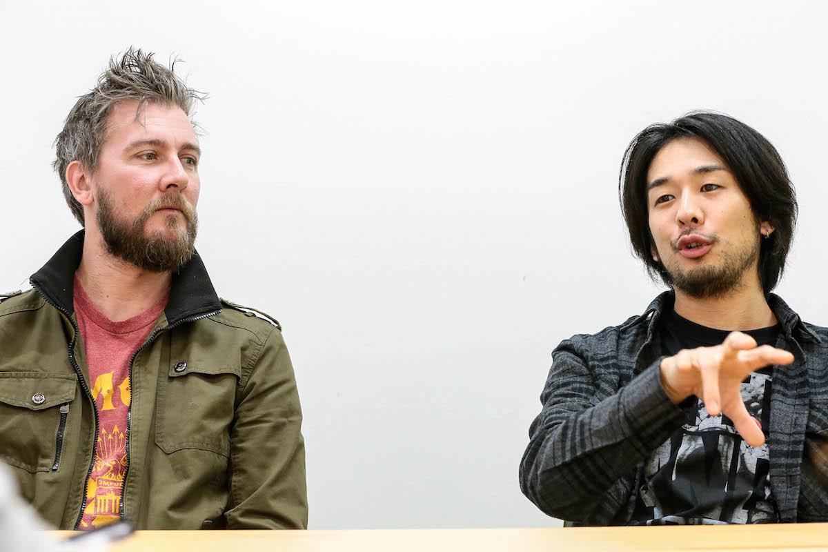 HEY-SMITH・猪狩秀平 / オーソリティ・ゼロ・ジェイソン・デヴォア 撮影=風間大洋