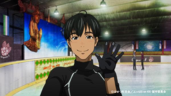 アニメ『ユーリ!!! on ICE』第4話より先行場面カット到着
