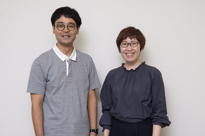 (左から)ノゾエ征爾、長田育恵 (撮影:荒川潤)