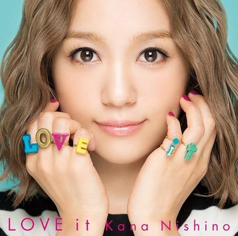 西野カナ『LOVE it』(通常盤)SECL-2237