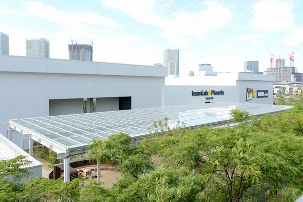ゆりかもめ新豊洲駅前にオープンする「チームラボ プラネッツ TOKYO DMM.com」