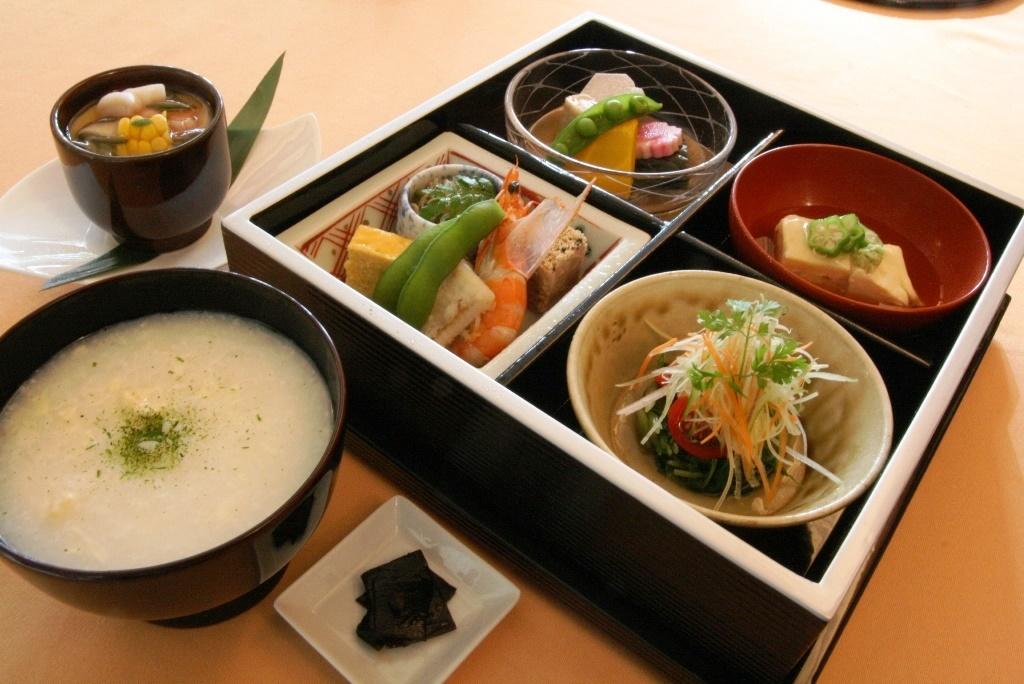 祇園 京料理いそべ「京のゆば粥御膳」