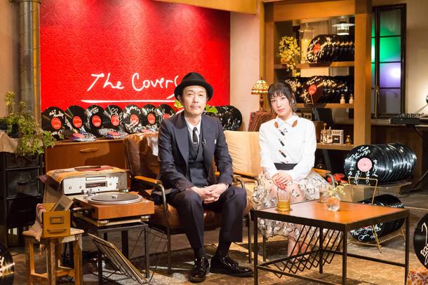 番組の司会を務めるリリー・フランキー(左)と仲里依紗(右)。(写真提供:NHK)