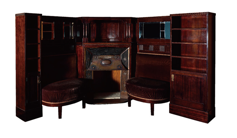 アドルフ・ロース 壁付家具 1904頃 武蔵野美術大学 美術館・図書館