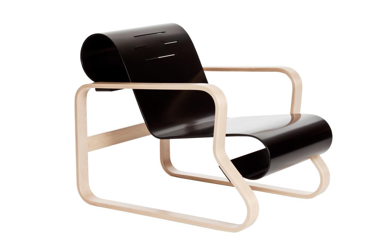 椅子「アームチェア41 パイミオ」 アルヴァ・アアルト 1931-1932年 アルテック 個人蔵 (C)Artek