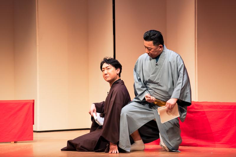 動きも加えて名台詞を。1シーンのお芝居にもかからわず、一幕観たように心を動かされました。