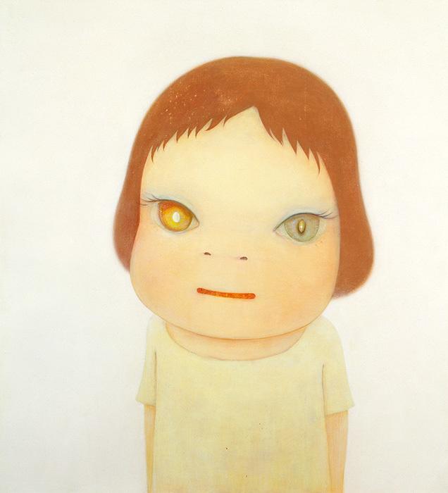 奈良美智『Missing in Action - Girl Meets Boy -』2005年 広島市現代美術館 ©Yoshitomo Nara 2005