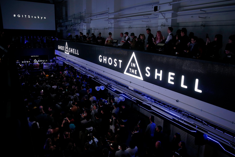 『GHOST IN THE SHELL ゴースト・イン・ザ・シェル』エクスクルーシブ・イベントのようす