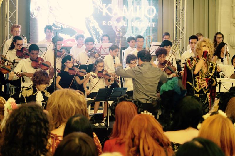 KAMIJO(Vo)とオーケストラ