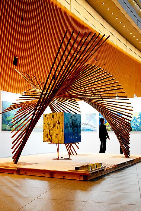 アートフェア東京2017│ミャンマー・アーティスト×Installation kaguya
